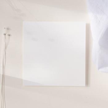 Carte de remerciement mariage Libre Création, simple Volet, 14 x 14 cm