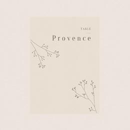 Marque table mariage Brin de Provence tables thème régions de France pas cher