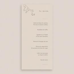 Menu mariage Brin de Provence délicat gratuit