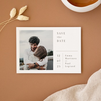 Save-the-date mariage Brin de Provence, photo