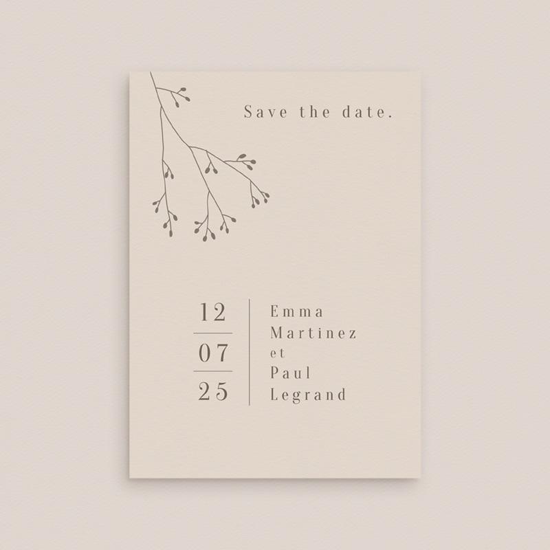 Save-the-date mariage Brin de Provence, Noter la date gratuit