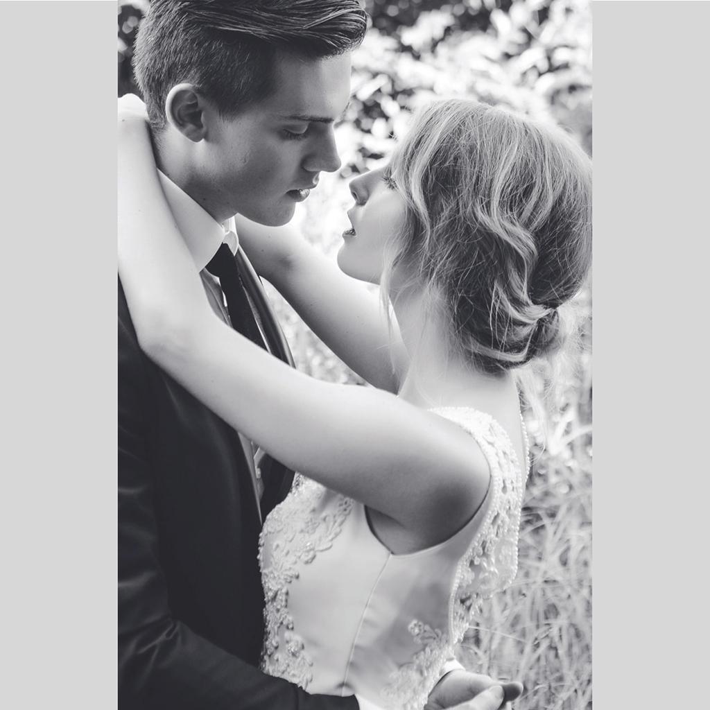 Carte de remerciement mariage Chic Aquarelle gratuit
