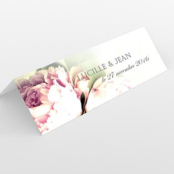 Marque-place mariage Ruban