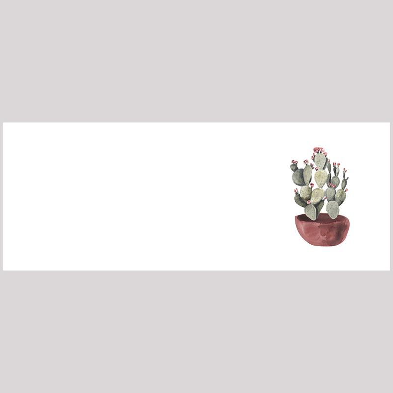 Marque-place mariage Fleur de cactus pas cher