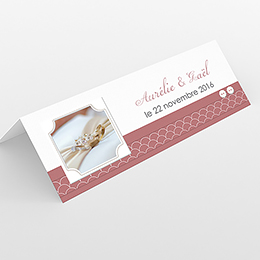 Marque-place mariage Tomette