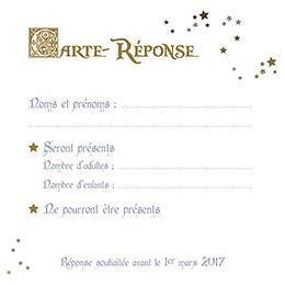 Carton réponse mariage William et Kate  pas cher