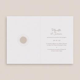 Faire-part de mariage Soleil de minuit, Double volet 12 x 17 cm pas cher