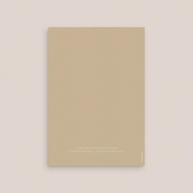 Faire-part de mariage Grenades Terracotta, 2 Volets, 12 x 17 cm gratuit