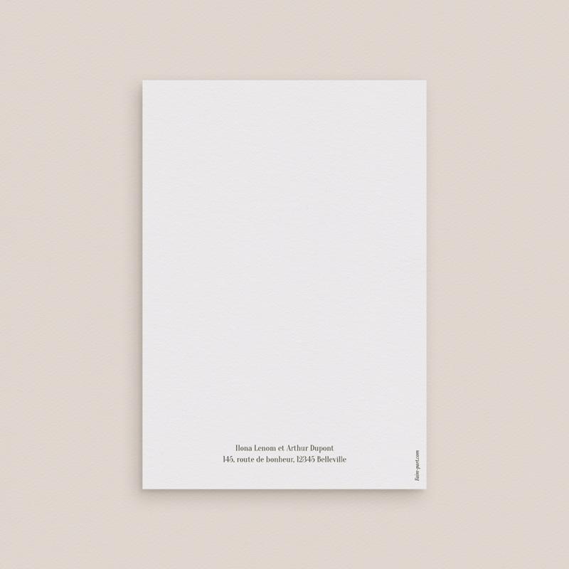 Faire-part de mariage Symétrie Végétale, 2 Volets, 12 x 17 cm gratuit