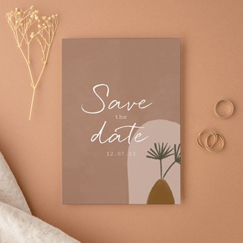 Save-the-date mariage original